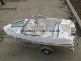 China Aqualand 17feet 5.2m Fiberglass Speed Boat/Rigid Power Boat (170)