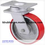 8 Inch Pallet Truck Red PU Wheel