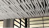 Aluminum bffle ceiling