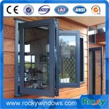 Gray Color Swing Window Hinged Window and Opening Windows