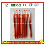 Cheap Click Gel Ink Pen in Red Color