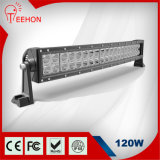 20′′ 120W Bent LED Light Bar for Offroad