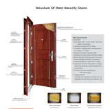 Steel Door, Double Leaf Cold-Rolled Steel Security Doors (DA--9006)