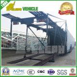 Two Axles Hydraulic Cylinder Trailer Car Transporter