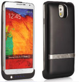 External Power Bank Case Backup Battery Charge Black for Note3