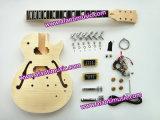 Jazz Guitar/ Precise F Holes/ Afanti DIY Electric Guitar Kit (AGK014)