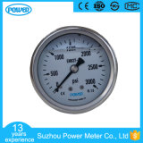 60mm 2.5 Inch Stainless Steel Liquid Filled Pressure Gauge