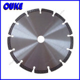 Turbo Segment Laser Welded Diamond Saw Blade for Concrete /Granite