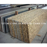 Cheap Yellow Stone Granite Slab for Floor, Tombstone, Paving
