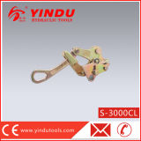 30 Kn Easily Operated Cable Steel Wire Rope Grip (S-3000CL)