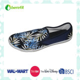 Canvas Upper with Silk Printing, Casual Shoes