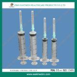 3-Parts Luer Slip Syringe Without Needle for Single Use