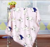 High Quality Customized 100% Cotton Terry Blanket Wholesale in China for Baby Sleeping