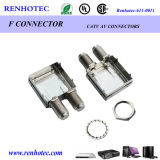 (Top Manufacturer with Best Price & Pass CE) Dual F Type Female Jack Connectors