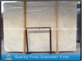 Natural Moon Cream Beige Marble for Bathroom Flooring, Countertops Slabs