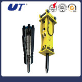 Top Type Excavator Attachments Hydraulic Hammer Press