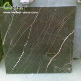 Brown Polished Marble Floor Tile