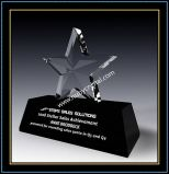Crystal Star Award Trophy Gift 6 Inch Tall (NU-CW864)