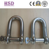 Stainless Steel Shackle, E. Galvanized Shackle D Ype