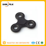Quiet Nano Stainless Bearing Moulded Plastic Tri EDC Hand Spinner