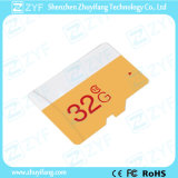New Design White and Yellow 32GB Class 10 Micro SD Memory Card (ZYF6033)