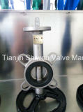 Stainless Steel Bare Shaft Wafer Butterfly Valve