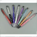 Diamond Crystal Stylish Capacitive Drawing Stylus Writing Ballpoint Touch Pen