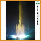 138m Central High Jet Music Dancing Lake Fountain