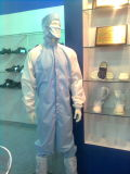 Shanghai Lingtech High Class SGS Certified Cleanroom Jumpsuit Coverall