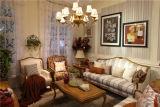 Home Lving Room Furniture 5 Star Hotel Wooden Sofa Set