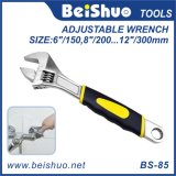 Colorful Anti-Slip Adjustable Wrench Spanner Hardware Hand Tools