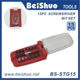 15-PCS Household Handtools Screwdriver Bit Set