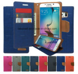 Mobile Phone Accessory Luxury Leather Case Mercury for iPhone Case for Samsung Cell Phone Cover Case