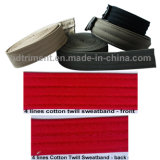 Cap Hat Part Accessary Cotton Twill Sweatband (4 lines)