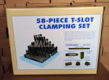 M20X22mm Deluxe Steel High Hardness 58PCS Clamping Kit