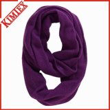 Fashion Acrylic Cashmere Knitted Lady Infinity Scarf