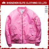 Wholesale Winter Clothes Custom Pink Bomer Jacket (ELTBJI-2)