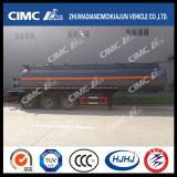 Cimc Huajun 24m3 3 Axle Chemical Liquid Tanker