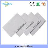 RFID Plain Cards Proximity Cards Tk4100 Chip Card