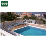 4X8 Swimming Pool Cover with Aluminium Frame and PC Panel