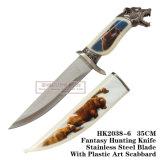 Dog Hunting Knives Camping Knife Tactical Survival Knife 35cm
