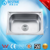 High Quality Stainless Steel Kitchen Basin 5338h