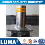 Access Control Electric Hydraulic Stainless Steel Automatic Road Rising Bollard