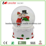 Christmas Water Globe Polyresin Snow Globe for Decorative Gifts