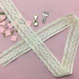 Wholesale High Quality 3cm Cotton Lace for Garment Decoration