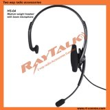 Two Way Radio Light Weight Headset with Large Inlie Ptt for Emergency Call Center Headset