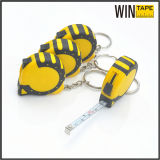 Custom Promotional Tape Measure 1 Metre with Key Chain