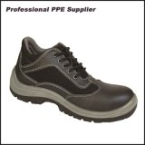 Low Cut PU Injection Mens Leather Work Boots