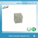 Permanent N48 Nickel Coating Neodymium Magnet Ball
