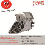1.0kw 9 T Cw Starter for Toyota Corolla Car Repair
